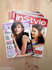 INSTYLE 2005, 2008, 2015 █ Elige 1 Revista de Moda Celebrities Belleza In Style
