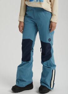 Burton Retro 2 Layer Retro Women's Snowboard/Ski Pants, S Storm Blue
