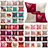 Valentine's Day Gift Throw Pillow Cases Soft Sofa Cushion Cover Bed Home Decor