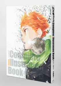 Haikyuu!! Complete Illustration book: The End and the Beginning Japanese JAPAN