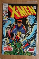 "Marvel The X-Men #57 (Jun,1969) Silver Age Comic Book ""the Sentinels"""