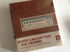 hardbound friendship bible nlt new living translation great gift to a friend