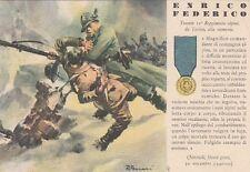 A6228) WW2, GRECIA, M. O. ENRICO FEDERICO DA TORINO, 11 REGGIMENTO ALPINI.
