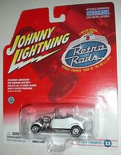 White 1927 Ford T-Roadster #13 Series 3 Retro Rods Johnny Lightning 1:64 scale