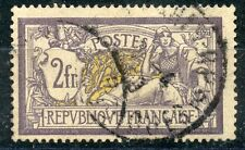 STAMP / TIMBRE DE FRANCE TYPE MERSON OBLITERE N° 122 COTE 90 €