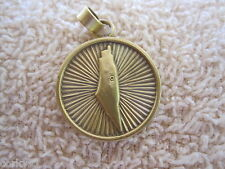 "Palestine Pendant Map Of ""The Homeland"" Arabic/English Palestine Pendant"