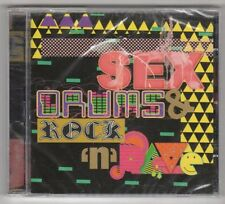 (GX301) Sex Drums & Rock N Rave, 18 tracks various artists - sealed CD