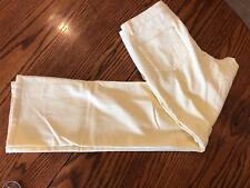 COLDWATER CREEK BUTTER YELLOW WOMEN'S JEANS/ never worn/ SIZE 6