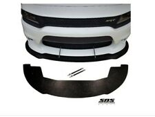 FRONT SPLITTER+2 SUPPORT RODS 2015-2020 CHARGER SRT, R/T, GT, HELLCAT & SCATPACK