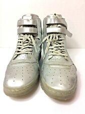 Puma Men's Sky-Hi Platinum Silver Basketball Shoes - US Size 13