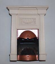 Sue Cook Fireplace Georgian plaster - Camino georgiano gesso PF20