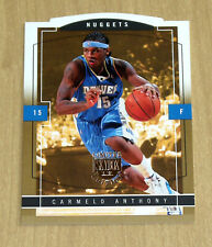 2003-04 Fleer Skybox Limited Edition Gold Proof Carmelo Anthony rookie 37/150
