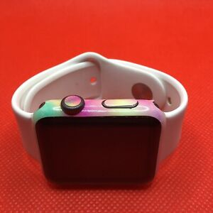 Apple Watch Series 0 1st Gen 42mm Fitness & Health Smartwatch - Colorful Decal