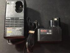 Bosch Battery + Battery Charger - 2607224168, 9.6v 2607335089