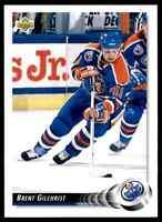 1992-93 Upper Deck Brent Gilchrist #459
