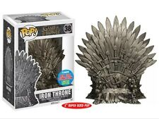 Game of Thrones IRON THRONE NYCC Exclusive Funko Pop! Vinyl Figure RARE RETIRED
