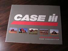 Original CASE INTERNATIONAL 1995 BUYER'S GUIDE Brochure # AE101015 JI CASE
