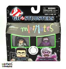 Ghostbusters Minimates TRU Wave 1 Dr. Egon Spengler & Library Ghost