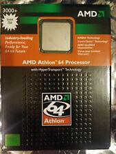 AMD Athlon 64 3000+ 512KB Cache Socket 754 CPU ADA3000BXBOX ADA3000AIK4BX