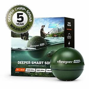 Deeper Chirp+, Green (Military Green), 6 centimetres Smart Sonar WIFI