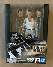 Freddie Mercury Live Aid Version S.H.Figuarts Bandai Tamashii Nations Figure