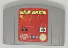 Mission Impossible - N64 - Good Condition - Fast Free 1st Class CART ONLY