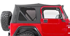 97-06 Jeep Wrangler Soft Top Canvas and Three Tinted Rear Windows