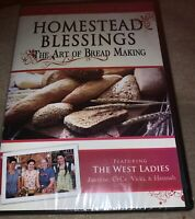 Homestead Blessings - The Art Of Bread Making (DVD, 2008) Sealed!!