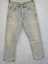 B0 NEW CITIZENS OF HUMANITY Charlotte Crop Hi Rise Straight Jeans Size 29 $248