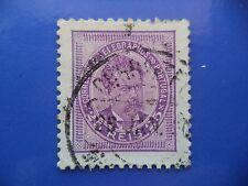 PORTUGAL STAMP - 1882/84 KING LUIS I (NEW DRAW / NOVO DESENHO) - 25 REIS VIOLET