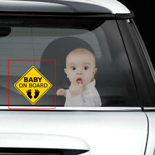 Reflective Baby on Board Warning Car Sticker Window Tail Decoration Accessories