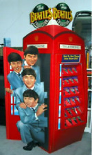 1993 BEATLES TELEPHONE BOOTH CARD DISPLAY WITH ORIGINAL BOX