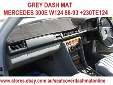 DASH MAT, DASHMAT FIT MERCEDES 300E W124 86-93 +230TE124 88,GREY