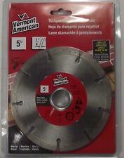 "Vermont American 27455 5"" x 1/4"" Tuckpointing Diamond Saw Blade"