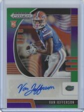 2020 Prizm Van Jefferson Green Purple Prizm Rookie Auto  /199