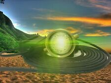 "GREEN MARINE LED BOAT DRAIN PLUG 8000 UNDERWATER FISHI LIGHT  1/2"" NPT"