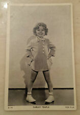 Vintage Film Star Postcard- SHIRLEY TEMPLE