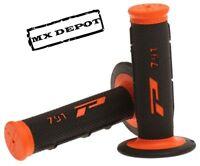 PRO GRIP 791 BLACK / ORANGE MX GRIPS KTM SX SXF XC EXC EXCF 125-450 MOTOCROSS