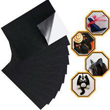 Black Felt Fabric Adhesive Sheets Multipurpose Velvet Sheet Sticky Glue Back