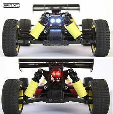 LED Lights Front And Rear For Losi 8IGHT MINI 1/14 waterproof by murat-rc