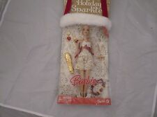 2008 Barbie Holiday Sparkle Gift Set w/Holiday Barbie Doll & Accessories - NRFB!