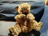 Adorable MERRYTHOUGHT Mohair Caught In The Rain Bear W/Bells England #75 of 500