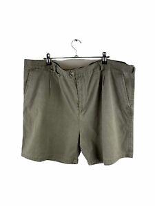 Pacifica Casual Shorts Mens Size 44 Green Golf Pockets Bermuda Logo Zip Close