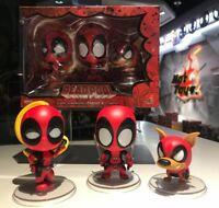 "3/"" Hot Toys Deadpool 2 Deadpool X-Men Trainee Ver COSB508 Bobble-Head"
