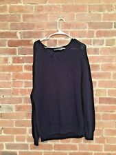 Vintage YSL Saint Laurent Mens Sweater, Sz Large Slouchy