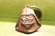 Star Wars Darth Vader Face Helmet Heavy Brass Key Chain VHTF Rare Metal Keychain