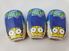 3 TIC TAC MARGE SIMPSONS BLUEBERRY 200 per container (600 total tic tacs)