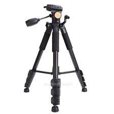 Trípode profesional de Aleación de Aluminio Trípode de Cámara para Canon Nikon S