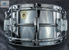 """*RARE* CHICAGO-MADE 6.5"""" LUDWIG VINTAGE 1984 SUPRAPHONIC SNARE DRUM LM402"""