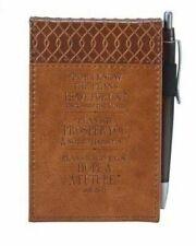 Jeremiah 29 11 Two-tone Pocket Notepad W/pen